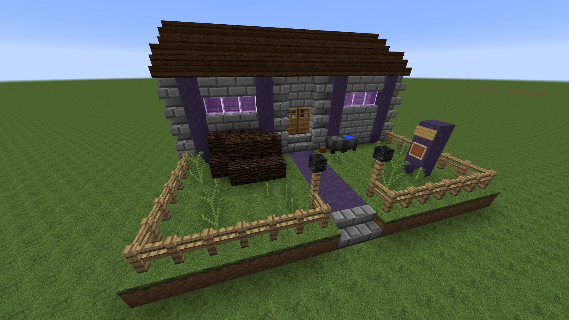 Minecraft Civcraft Cultist Trade Outpost