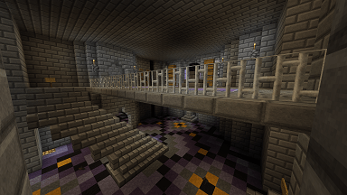 Minecraft Civcraft Cultist Capitol Inside View