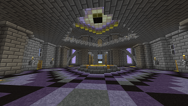 Minecraft Civcraft Cultist Temple Altar View