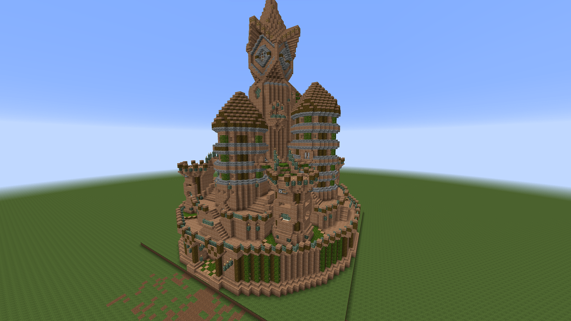 Treehouse House Minetexas Civcraft Custom Elven Templates