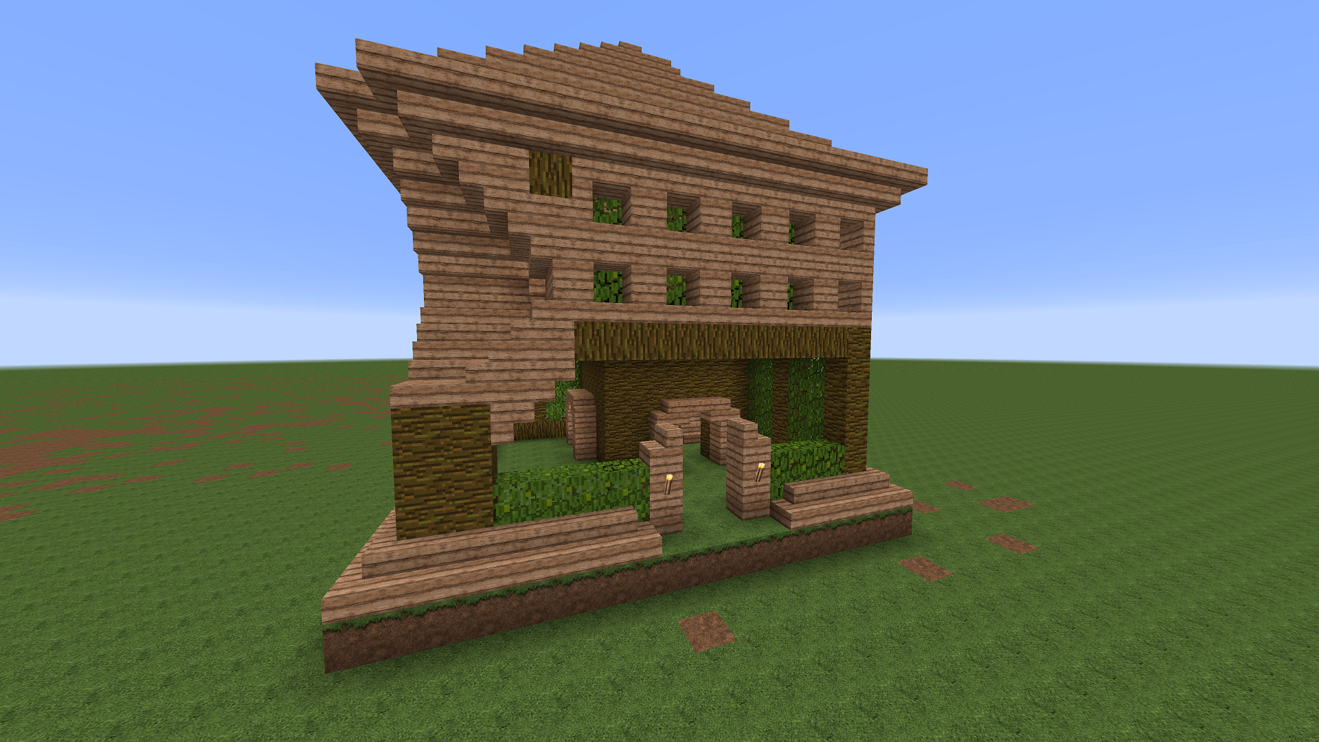minecraft how to make library