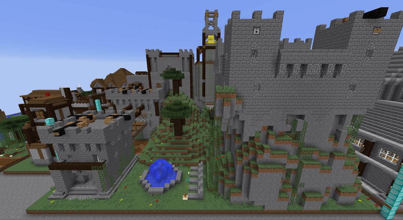MineTexas CivCraft Custom Medieval Templates