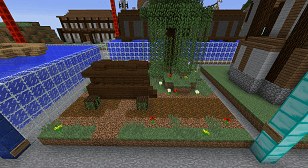 Minecraft Civcraft Medieval Trade Outpost