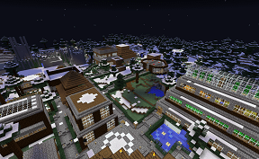 Blackrose Village on Towny PVE Minecraft Server