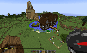Ravenhold Village on Towny PVE Minecraft Server